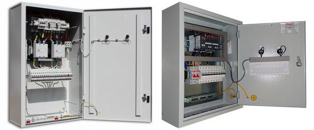 Шкаф автоматического включения резерва (АВР)
